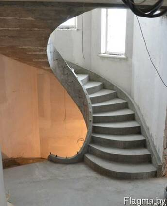 Бетонные лестницы любой конфигурации