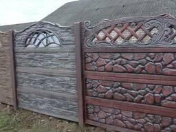 Бетонные секционные заборы,ворота,калитки,тротуарная плитка