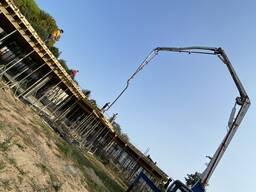 Бетононасос 37 метров Подача бетона
