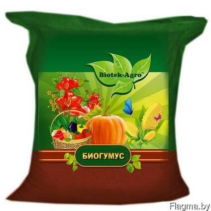 Биогумус, органическое удобрение, 3л