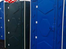 Биотуалет. Уличная туалетная кабина пластиковая Евростандарт с накопительный баком