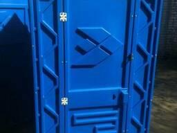 Биотуалет уличный на стройплощадку, туалетная кабина дачная