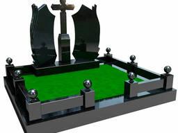 Благоустройство мест захоронений, памятники