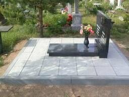 Благоустройство могил в Минске.
