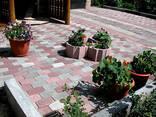 Благоустройство территории мощение тротуарной плиткой - фото 2