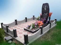 Благоустройство захоронений, памятники из гранита. - фото 2