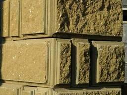 Блок бессер, демлер, бетонный колотый декоративный