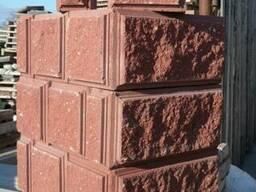 Блок бессер, демлер, бетонный колотый декоративный - фото 3