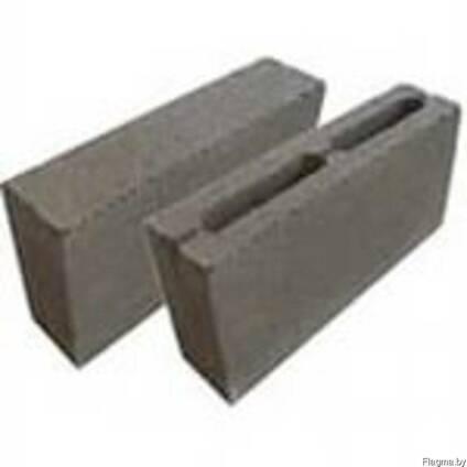 Блок перегородочный керамзитобетонный 200\120\400