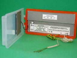 Блок питания электрического ограждения ИЭ-1-2, работает от встроенных гальванической (3. ..