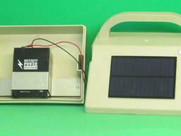 Блок питания электрического ограждения ИЭ-2-1, работает от встроенных аккумуляторной. ..