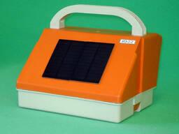 Блок питания электрического ограждения ИЭ-2-2, работает от встроенных аккумуляторной. ..