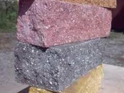 Блок рваный, рваный камень, бессер