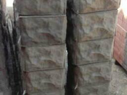 Блок заборный