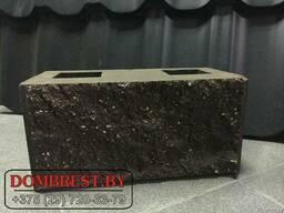 Блоки демлер, декоративные, цементно-песчаные, рваный камень