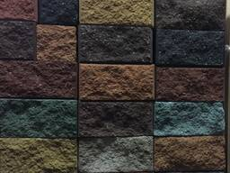 Блоки демлер для забора, декоративные, рваный камень