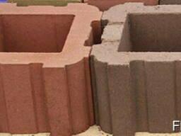 Блоки для забора из бессера