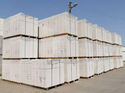 Блоки ячеистого бетона Забудова 1й кат. Д500 на клей.
