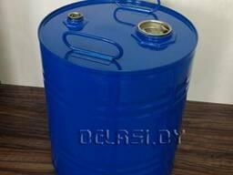 Бочка-барабан металлический 50л с пробками для топлива