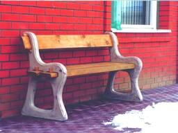 Боковины для скамейки из бетона