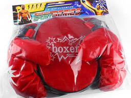 Боксёрский набор (2 перчатки, подушка)