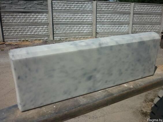 Бордюр тротуарный, дорожный, бордюрный камень 1 м, 0,5м