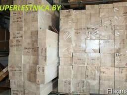 Брус из дуба клееный конструкционный 100х100х3000 сорт А