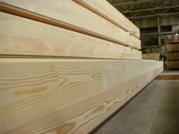 Брус клеенный стеновой из лиственницы сибирской 160х180х6000
