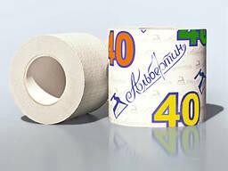 Бумага туалетная 40 м. c гильзой арт. 16С9705