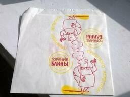 Бумажные пакеты для блинов, картофеля фри, гамбургеров