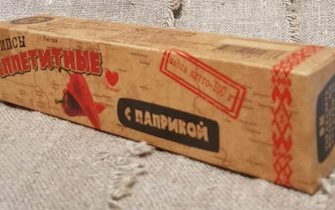 Чипсы Аппетитные паприкой 100 гр.