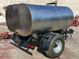 Полуприцеп- цистерна (Бочка) 3,0 м3 для перевозки воды