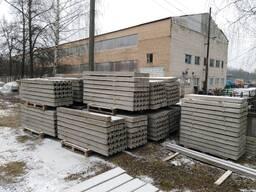 Cтолбы бетонные под сетку рябицу и саженцы