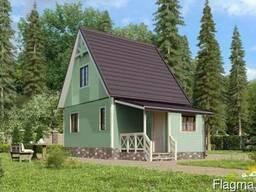 Дачный дом Восторг 2 - 48 м2