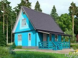 Дачный дом Восторг 4 - 68 м2