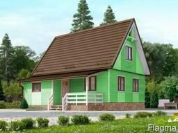 Дачный дом Восторг 5 - 78 м2