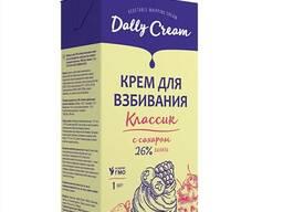 Dally Cream 26% сливки растительные для взбивания с сахаром