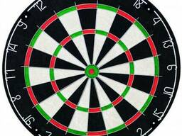 Дартс профессиональный сизалевый 18\'х1,5\' BL-1818В + дротики 18 гр. 6 шт.