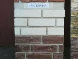 Декоративный камень из гипса.