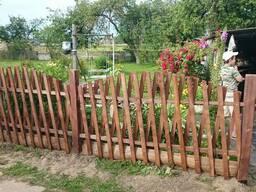 Декоративный забор - фото 2