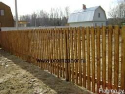 Декоративный забор - фото 3