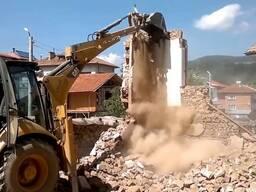 Демонтаж частных домов, зданий, сооружений