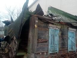 Демонтаж дома, старых построек, ветхих зданий с утилизацией отходов после демонтажа