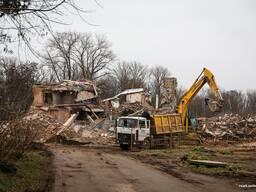 Демонтаж (снос) дачного дома в Витебске