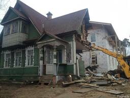 Демонтаж Снос зданий и сооружений, дачных домов