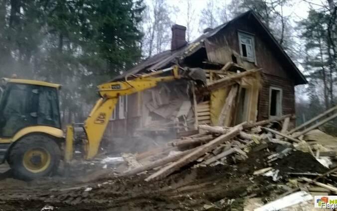 Демонтаж, снос зданий и сооружений в Столбцовском р-не