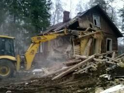 Демонтаж, снос зданий и сооружений в Столбцовском р-не - фото 1