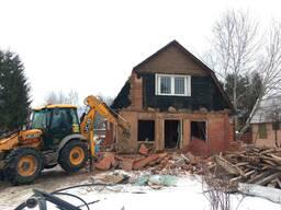 Демонтаж, снос зданий и сооружений в Столбцовском р-не - фото 4