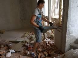 Демонтажные работы любой степени сложности!