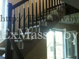 Деревянная лестница - фото 4
